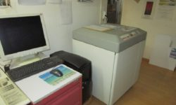 AGFA AccuSet 1500 Plus & AUSWASCHSTAT. G.+J Multiline Pro